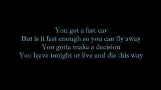 Boyce Avenue ft Kina Grannis - Fast Car Lyrics