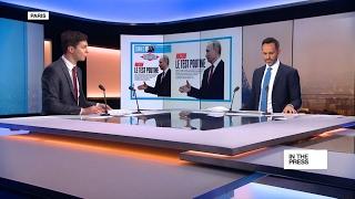 Putin 'gets the tsar treatment' as he meets Macron in Versailles