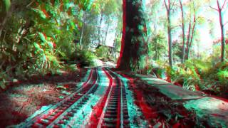Fox Creek RR - 3D Anaglyph POV (Red/Cyan)