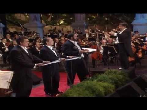 Concierto de los tres Tenores-Un tributo a Hollywood Subtitulado al español