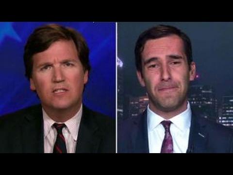 Tucker vs lawmaker who called feds Nazis