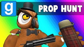 Gmod Prop Hunt - Five Nights at Vanoss's (Garry's Mod Funny Moments)