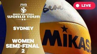 Sydney  2-Star 2017 - Women semi final 2 - Beach Volleyball World Tour