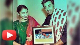 Ranbir Kapoor Gifts Anushka a Photo of Virat Kohli - Watch Now