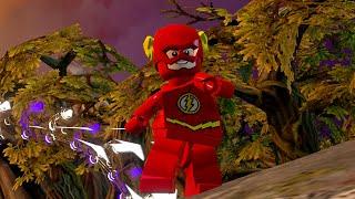 LEGO BATMAN 3 - The Flash FREE ROAM GAMEPLAY