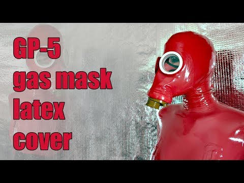 Xxx Mp4 GP 5 Russian Gas Mask Latex Cover For Breathplay Games 3gp Sex