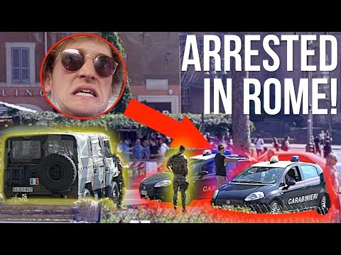 Xxx Mp4 I GOT ARRESTED BY ITALIAN POLICE NOT CLICKBAIT 3gp Sex