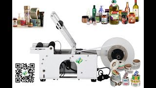 semi automatic adhesive labeller for  Malaysia client wrap around labeling machines wholesale price