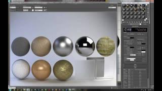 Creando Materiales Basicos Vray Tutorial 1/2