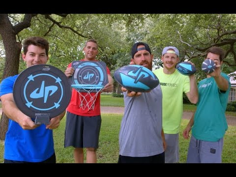 Dude Perfect Sports Line with NERF!!!