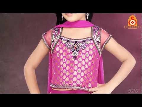 Silk India Girls Lengha Choli Volume 2