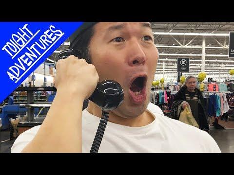 Singing BTS MIC DROP on WalMart LOUDSPEAKER!! (TRUTH OR DARE)