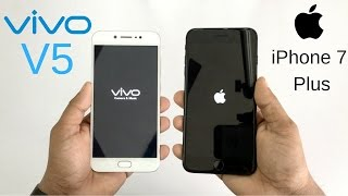 Vivo V5 vs iPhone 7 Plus Speed Test!