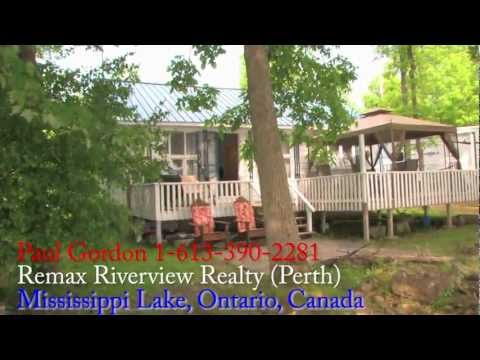 NEW LOWER PRICE $214,900 - Cottage for Sale - Mississippi Lake, Ontario Canada! NEW PRICE