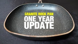 Granite Rock Pan: Re-Tested After 1 Year and 100+ Uses!