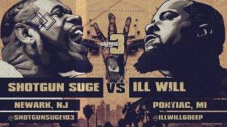 SHOTGUN SUGE VS ILL WILL SMACK/ URL RAP BATTLE | URLTV