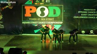 Tuttix Crew (DANCE PLUS 3) at PODS 2015
