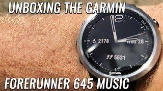 [UNBOXING] Garmin Forerunner 645 Music