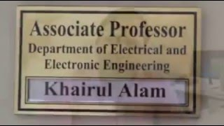 Dr. Khairul Alam, Professor, Department of EEE, EWU