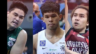 Arvin Tolentino suspended for two games; Thirdy Ravena, Javi GDL banned a game each