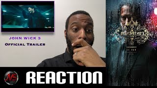 John Wick Chapter 3 Parabellum Trailer Reaction Review Watch