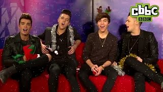 Pixie Lott, Union J, Bars and Melody Christmas Song - Friday Download CBBC