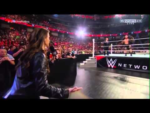 Brock Lesnar goes Ballistic 30/3/15