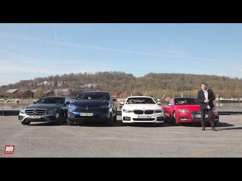 Voitures Autonomes 1 2 Tesla vs Mercedes vs Audi vs BMW