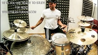 Phil Maturano - Drums / African Groove Lesson