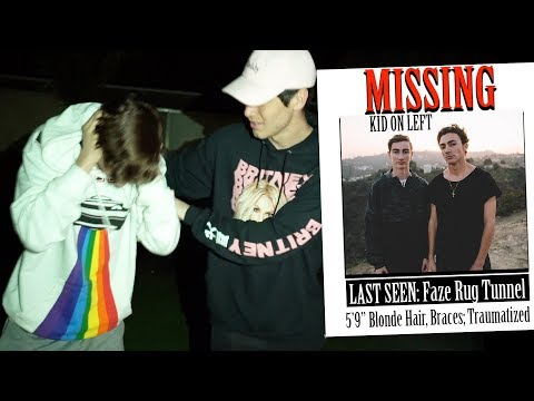 Xxx Mp4 WE FOUND TYLER My Brother Went Missing In Haunted Faze Rug Tunnel 3gp Sex