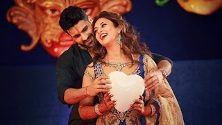 Divyanka Tripathi And Vivek Dahiya Dance Romance - Sangeet Ceremony