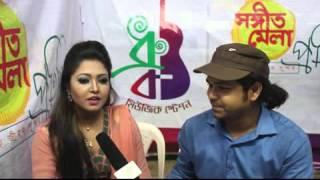 Singer Sania Roma with RJ Saimur Live@Sanget Mela::Swadesh.tv