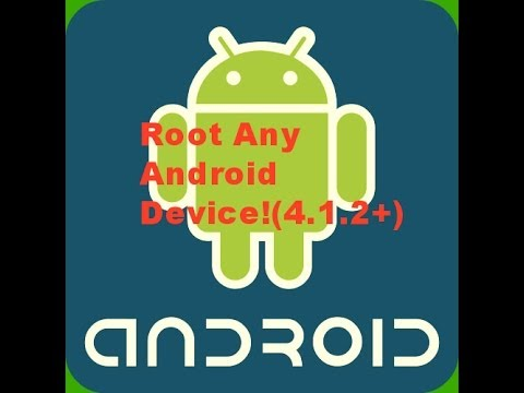 Root Any Android Device Without a Computer(4.1.2+)