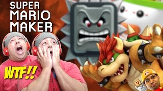 THESE F#%KING LEVELS ARE STRAIGHT FROM HELL!!! [SUPER MARIO MAKER] [#71]