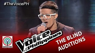 "The Voice of the Philippines Blind Audition ""All of Me"