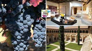 Sleep in a monastery with a 5* Spa surrounded by vineyards in Spain's Ribera del Duero