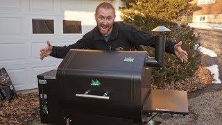 Green Mountain Grill Daniel Boone Setup