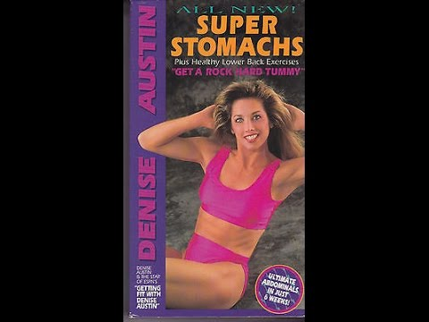 Opening & Closing To Denise Austin s New Super Stomachs 1997 VHS