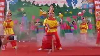 [Mầm Non Đồng Hòa] - Bé Khỏe Ngoan 2013 - Trống khai hội