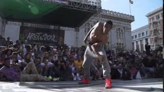 Krow Vs Dr Trey-Amazing dance Final battle2015