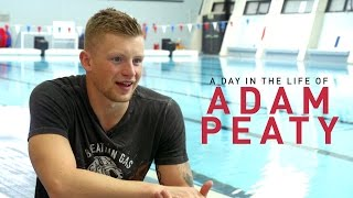 A day in the life of Adam Peaty