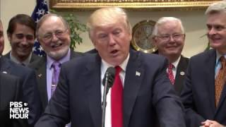 Watch President Trump to sign executive order on offshore drilling