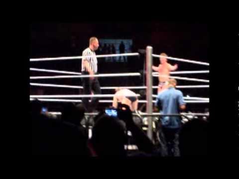 CM Punk vs Jericho in WWE Raw World Tour São Paulo