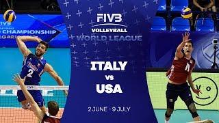 Italy v USA highlights - FIVB World League