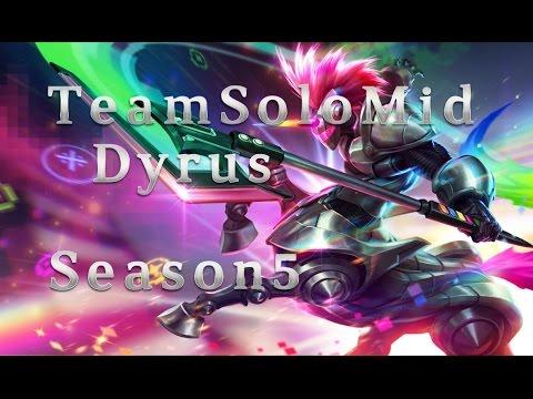 TSM Dyrus Hecarim TOP vs Gnar Season 5 Patch 5.9