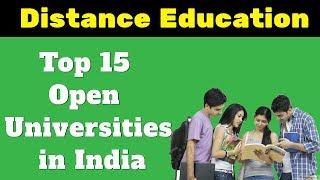 Top 15 Open Universities in India - Distance Education Institutes