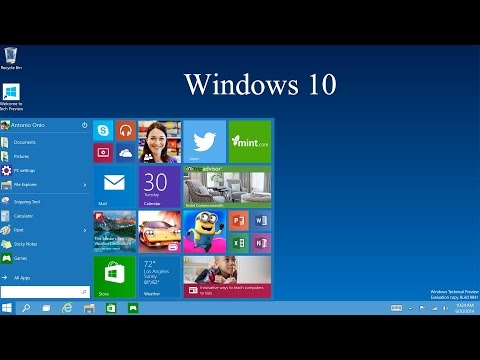 Windows 10 (Technical Preview) Introduction - Feature - First impression and Review - Hindi/Urdu