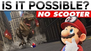 ESCAPE THE T-REX...WITHOUT THE SCOOTER | Is It Possible?