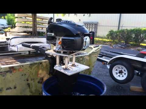 How to Make a Mud Motor Air Cooled Outboard