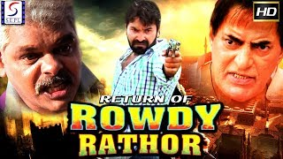 Kashif Ali, Manita l Latest 2018 Action Ka King South Dubbed Hindi Movie HD - Return of Rowdy Rathor